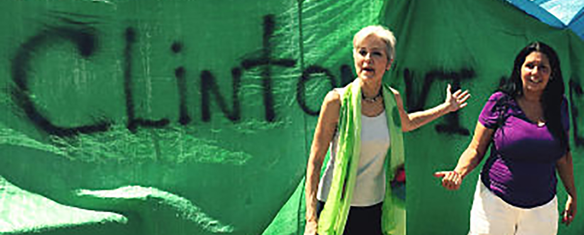 Green Party's Stein Walks With Poor While Democrats Party; 'Clintonville' reflects true horror of poverty in US