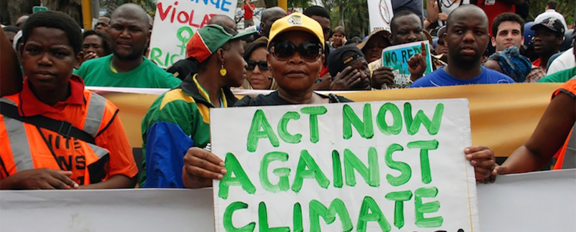 Time is Now to Act and Prevent Environmental Catastrophe