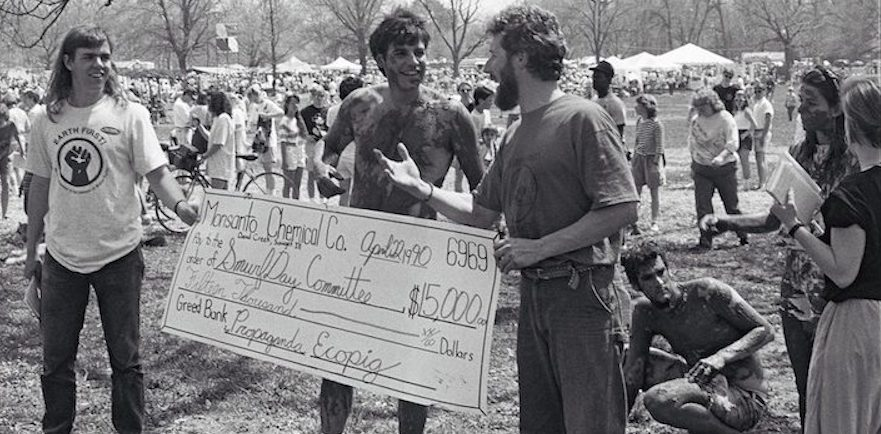 Earth Day 1990 – Mud People Triumph Over Monsanto