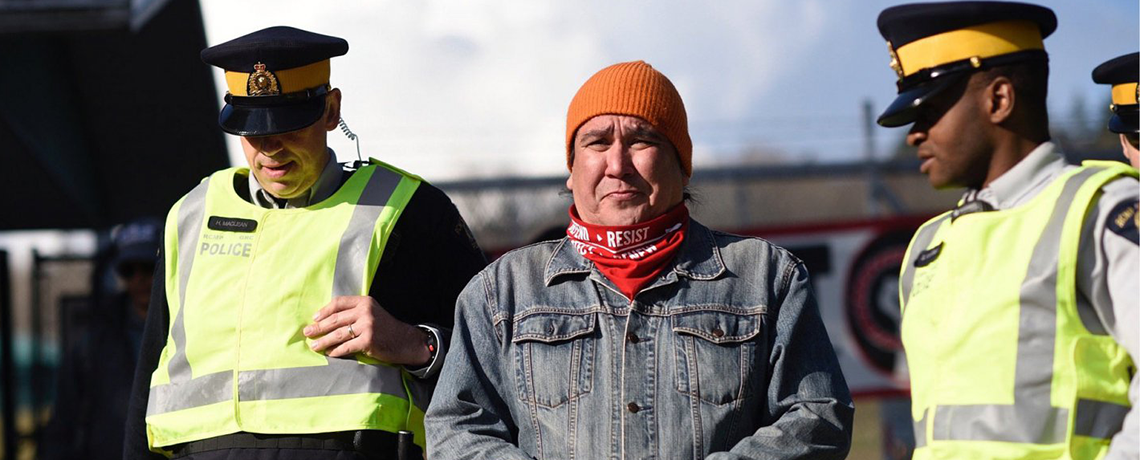 Why Clayton Thomas Müller Protested the Kinder Morgan Trans Mountain Pipeline Expansion