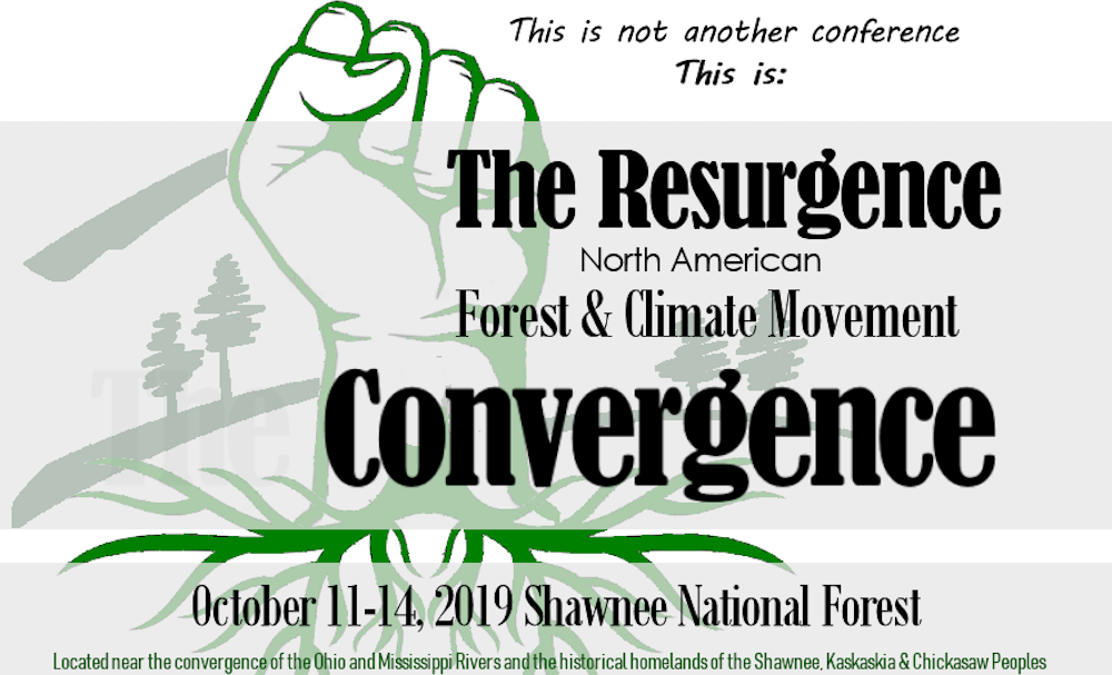 Join The Resurgence! Register Today to Build Strategies for Forests and Climate Justice