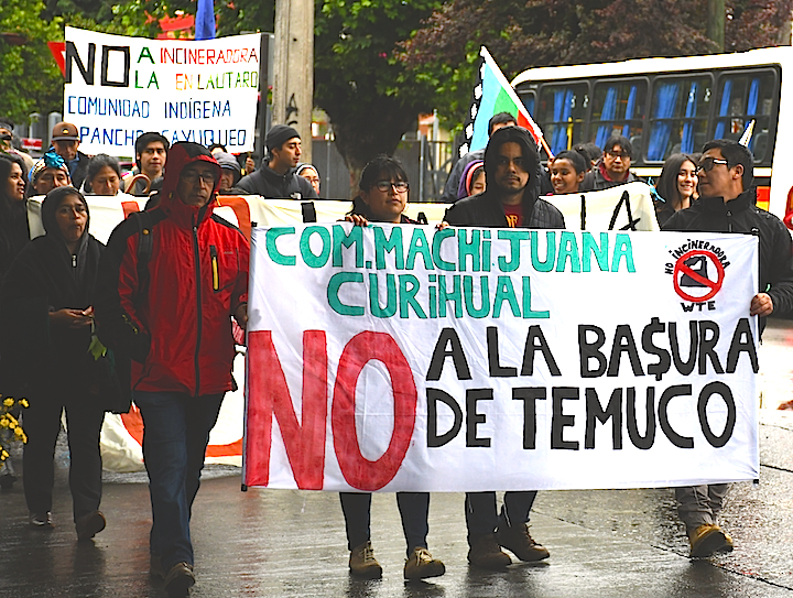 Video Short: Incinerator Protest from Temuco, Chile, 25 November 2019