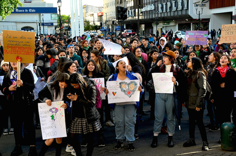 In Chile Feminists Continue Resistance Amid Lockdown