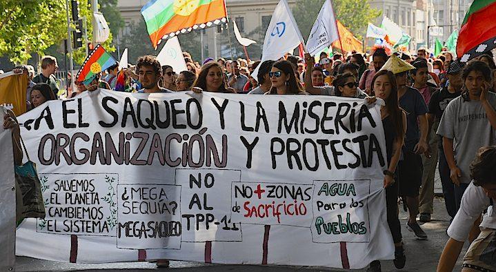 KPFK Interviews Alejandra Parra on Chile Protests & Global Environmental Justice