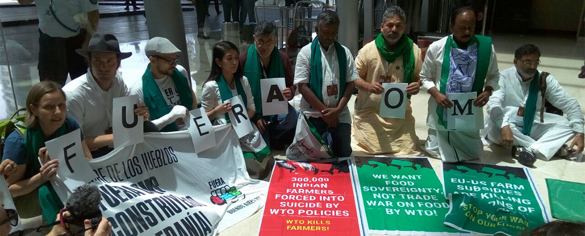 Forest Activists Celebrate Collapse of WTO and EU-Mercosur Negotiations