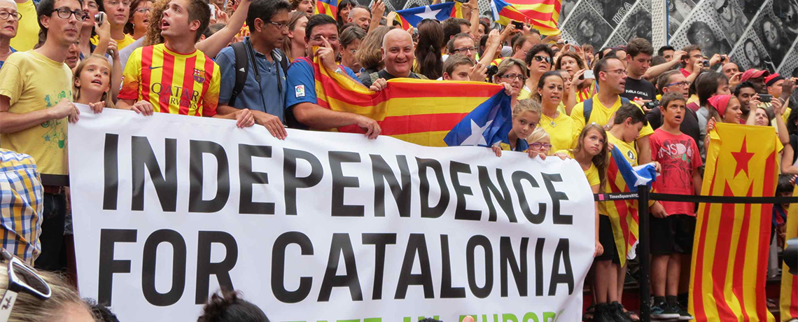 Independence: Communiqué on Situation in Catalonia