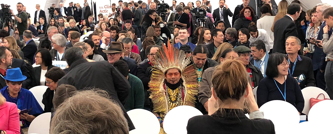 Groundbreaking 'Carbon Pricing Report' Released by Indigenous Group at COP 23