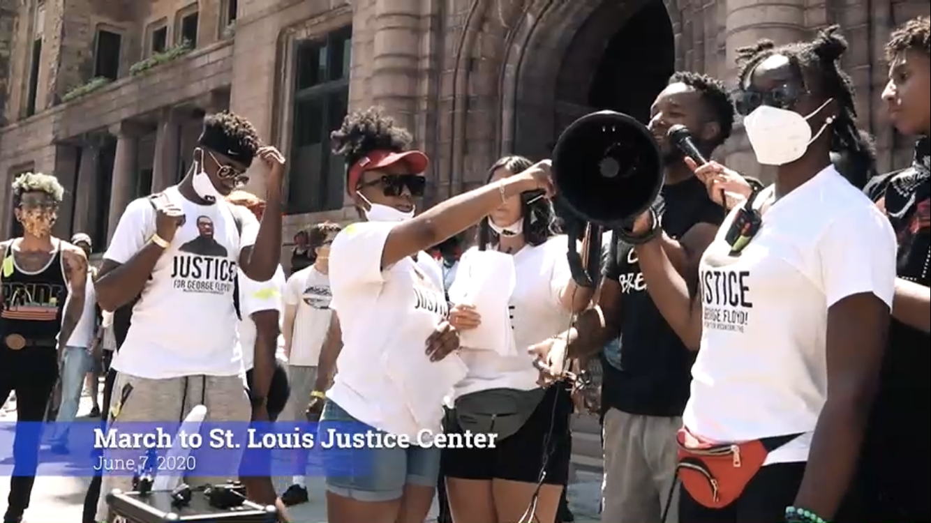 Watch: Powerful poem by 14 year old at BLM protest