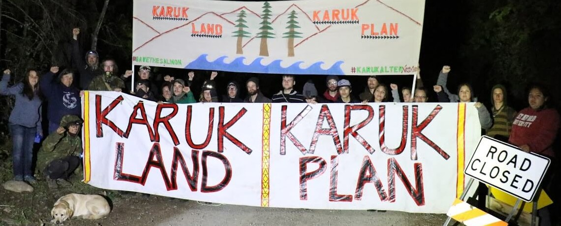 WATCH:  Blockade Disrupts Klamath Watershed Salvage Logging