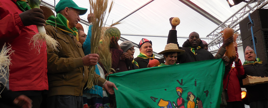 La Via Campesina calls for a Global Week of Action Against the WTO and FTAs as the 11th Ministerial Conference Draws Closer