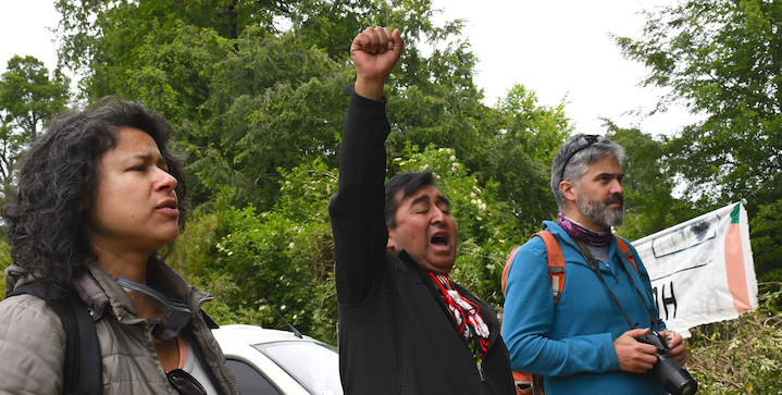 """Video: Statement to COP25 from Mapuche & Others in Chile – No market-based """"solutions""""!"""