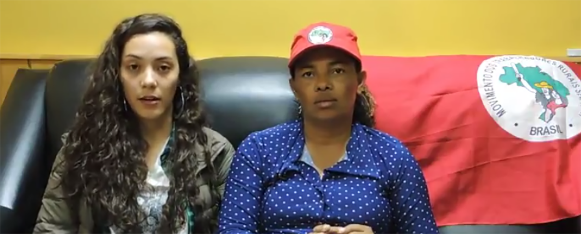 WATCH: MST Militant on Taking Back Land from Plantations in Brazil