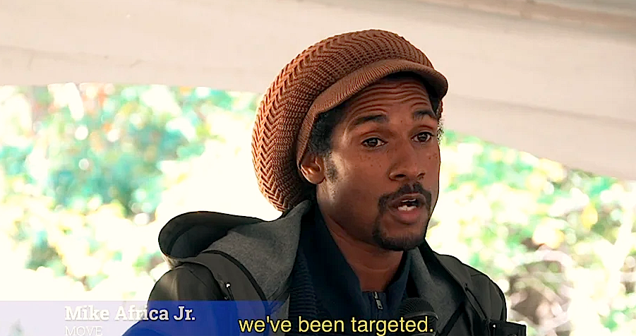 Watch: Mike Africa Jr. On Revolutionary Action