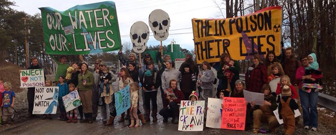 Long Term Resistance Camp To Fight Fracking And Pipelines In Ohio