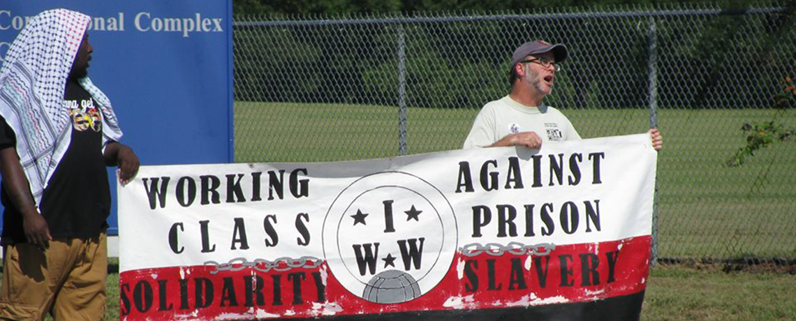 WATCH: Rally at Coleman Prison in Support of Prisoner Strike