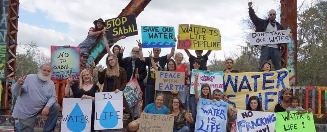 EARTH WATCH: Anita Stewart On Sabal Trail Pipeline in Florida