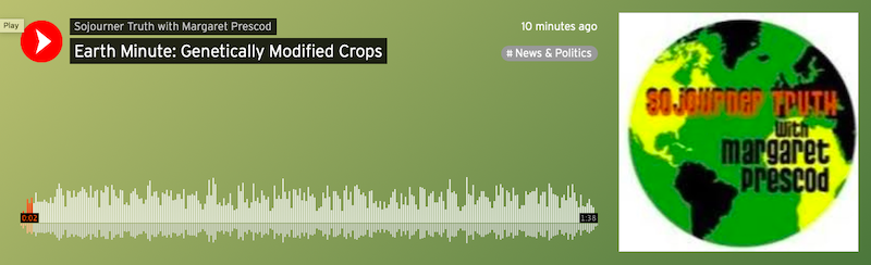 Earth Minute: Genetically Modified Crops