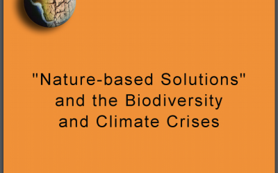 """New Paper Addresses """"Nature Based Solutions"""" and the Biodiversity and Climate Crises"""