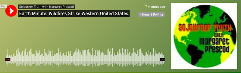 Earth Minute: Wildfires Strike Western United States