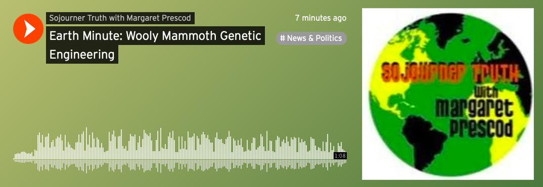 Earth Minute: Woolly Mammoth Genetic Engineering