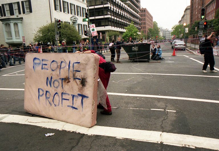Earth Watch: Soren Ambrose on April 2000 Protests