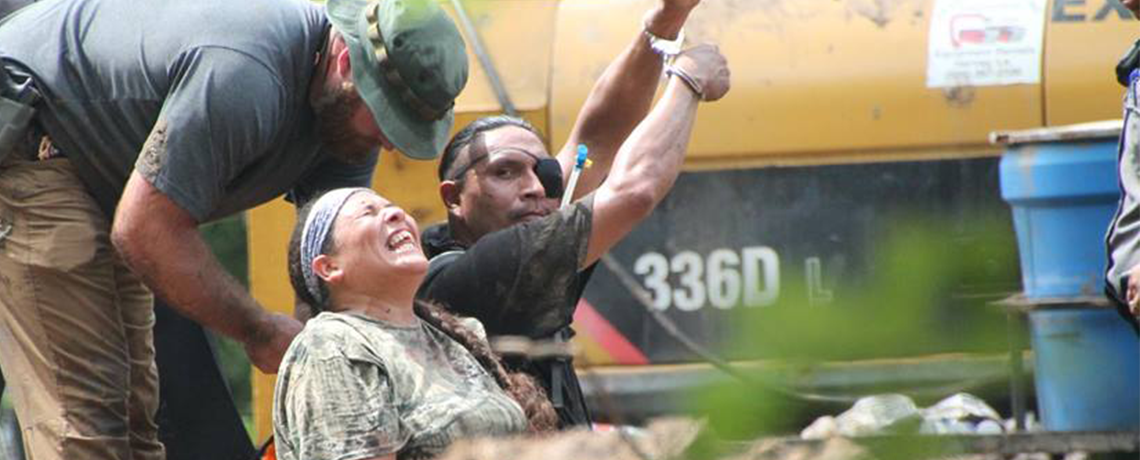 Water Protectors Arrested at Site of Illegal Bayou Bridge Construction