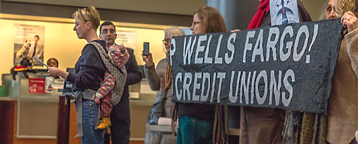 Standing Rock Spurs New Wave of Divestment Activism Aimed At Banks