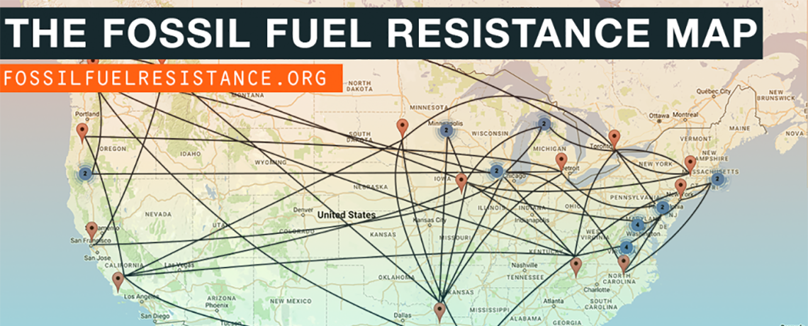 The Fight From Below Seen From Above: New Map Details Local Fossil Fuel Resistance