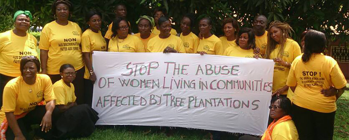 Women Demand Oil Palm Companies Stop Violence and Give Back Community Land