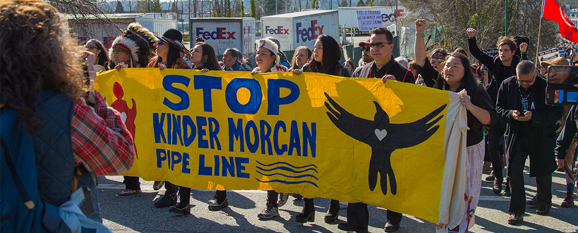 Indigenous Peoples Take Bold Action on Pipelines, Tar Sands