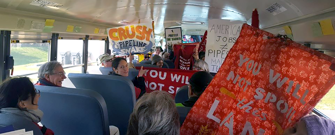 Lancaster, Pennsylvania: Locals Take Over Pipeline Office, Then Occupy Drill Rig