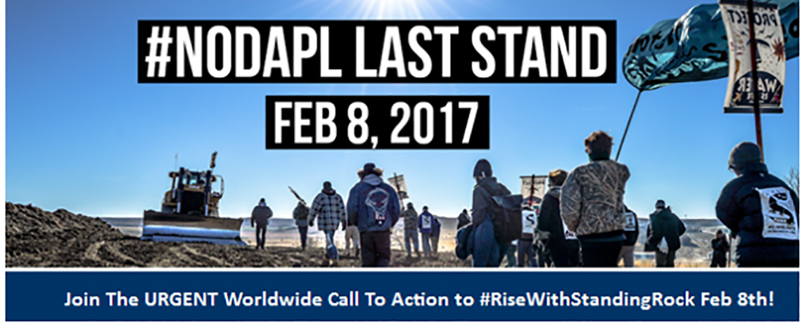 TODAY: Rise With Standing Rock and Indigenous Resistance
