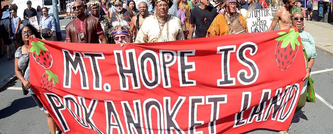 Struggle with Brown University Over Potumtuk Land Entering New Phase