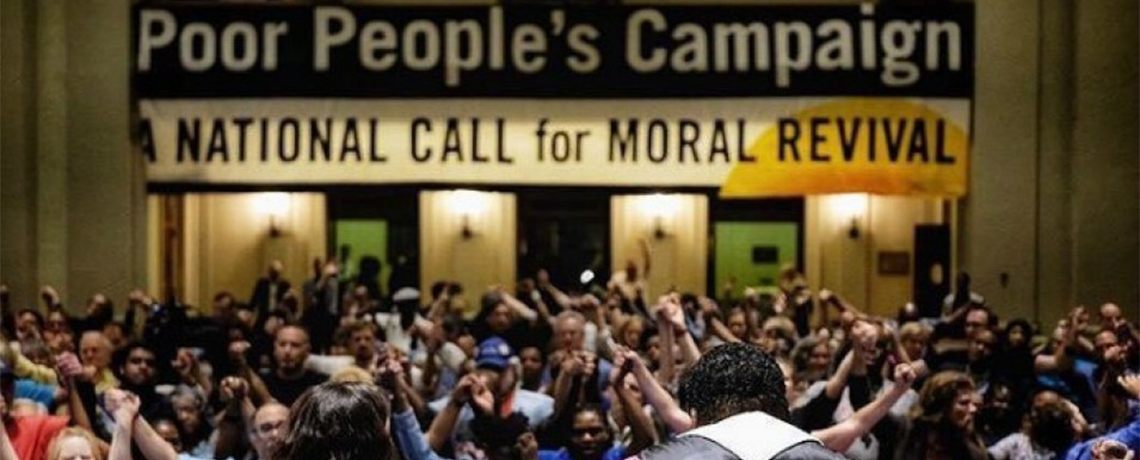 Hundreds of Poor People's Campaign Activists Arrested While Demonstrating for Racial Justice
