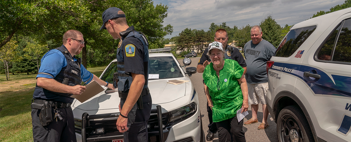 PHOTOS: 11 Arrested as Vermont Protesters Call for Abolition of ICE, End of Family Seperations