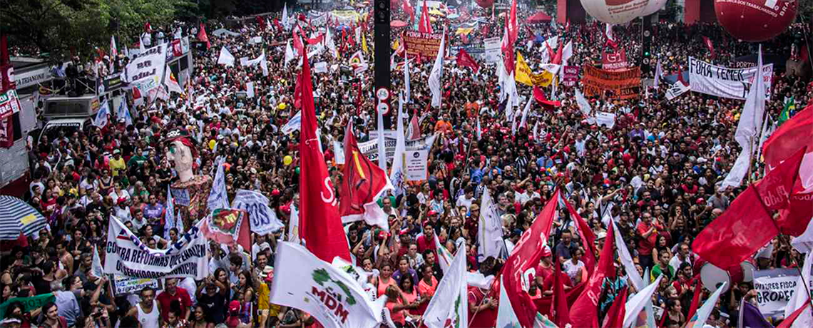 Brazil Holding First General Strike in Two Decades