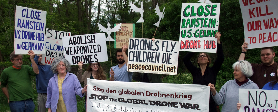 Drone Resisters Acquitted, Juror Tells Them: 'Keep Doing It'