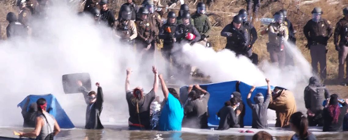 Tribes Ask International Human Rights Commission to Stop Violence Against Water Protectors
