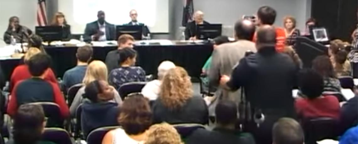 Professor Slammed to Ground, Injured at College Meeting on Unionization