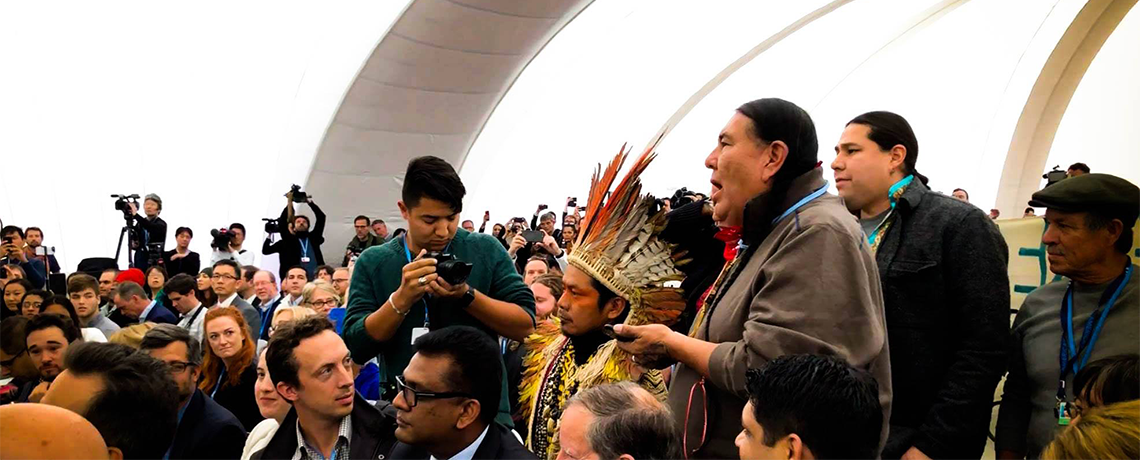 White House Event at COP23 Overshadowed by Indigenous, Black and Latinx Ceremony